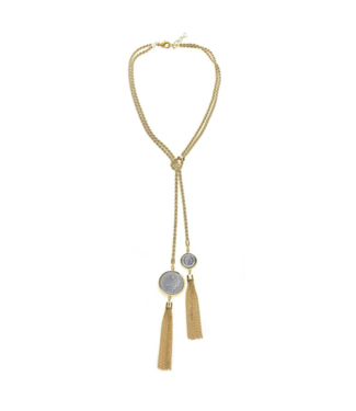 Cristina Sabatini Celest Chain Necklace