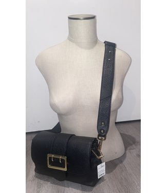 Black and Gold Crossbody Bag