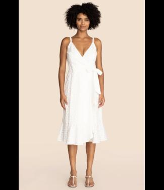 trina turk Lamina Dress White Wash