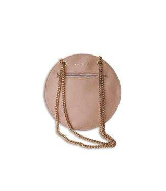 Berge Leather Goods Pink Circle Bag
