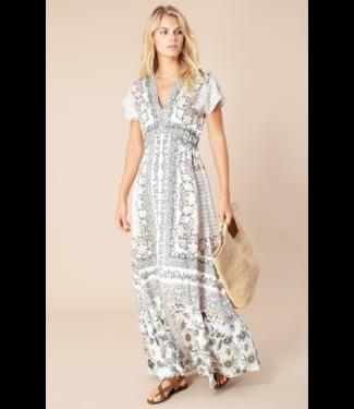 hale Bob Ivory Katherine Maxi Dress