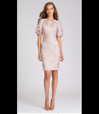 Teri Jon Rose Beaded Dress