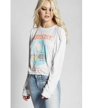 Recycled Karma Woodstock Cropped L/S