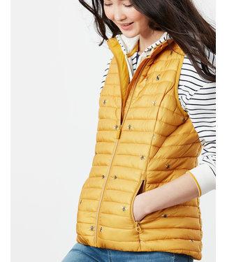 Joules Gold Bee Vest