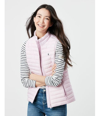 Joules Pink Puffy Warm Vest