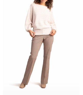 trina turk Halima 2 Ivory Dolman Sleeve Sweater