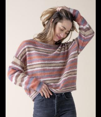 Margaret O'Leary Terracotta Mohair Sweater