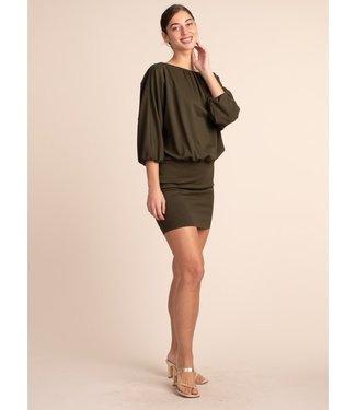 trina turk Bella Dress Olive