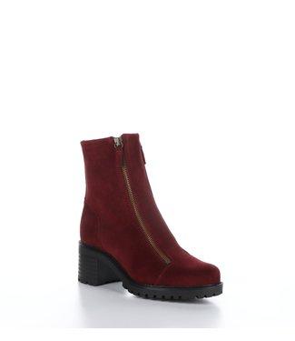Bos & Co Ingle Double Zip Boot Sangria