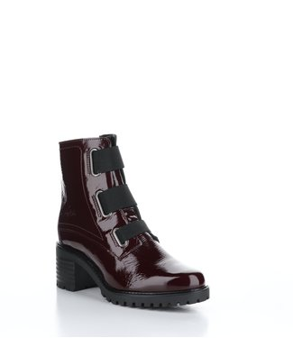Bos & Co Indie Suede Ankle Boot Bordo
