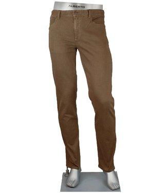 alberto Pipe Brown Pant