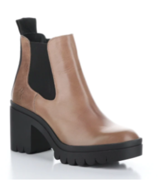 Bos & Co Tope Elastic Ankle Boot Rose