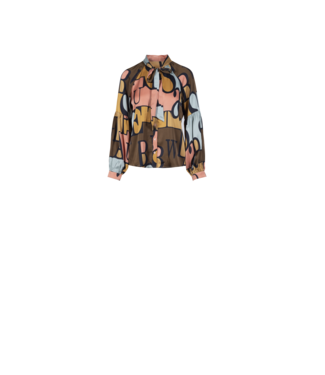 Anonyme Words Blouse Brown