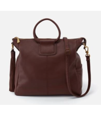 Hobo International Sheila Mahogany Large Leather Bag
