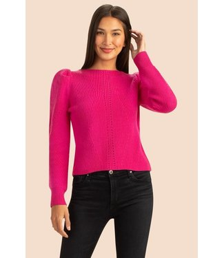 trina turk Pink Dalhart Sweater