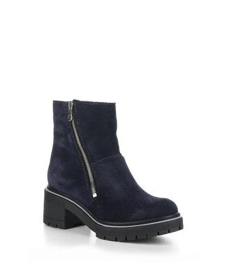 Bos & Co Navy Zap Shoe