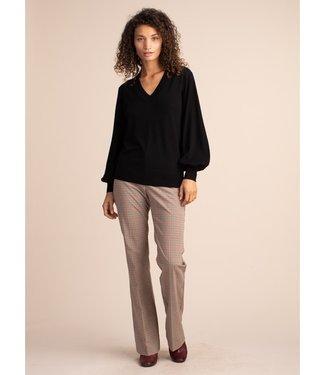 trina turk Black Evening Sun Sweater
