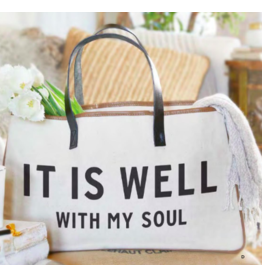 GIB Carson Companies It is Well Canvas Tote