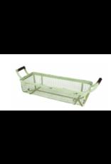Upper Deck Medium Rectangular Metal Basket