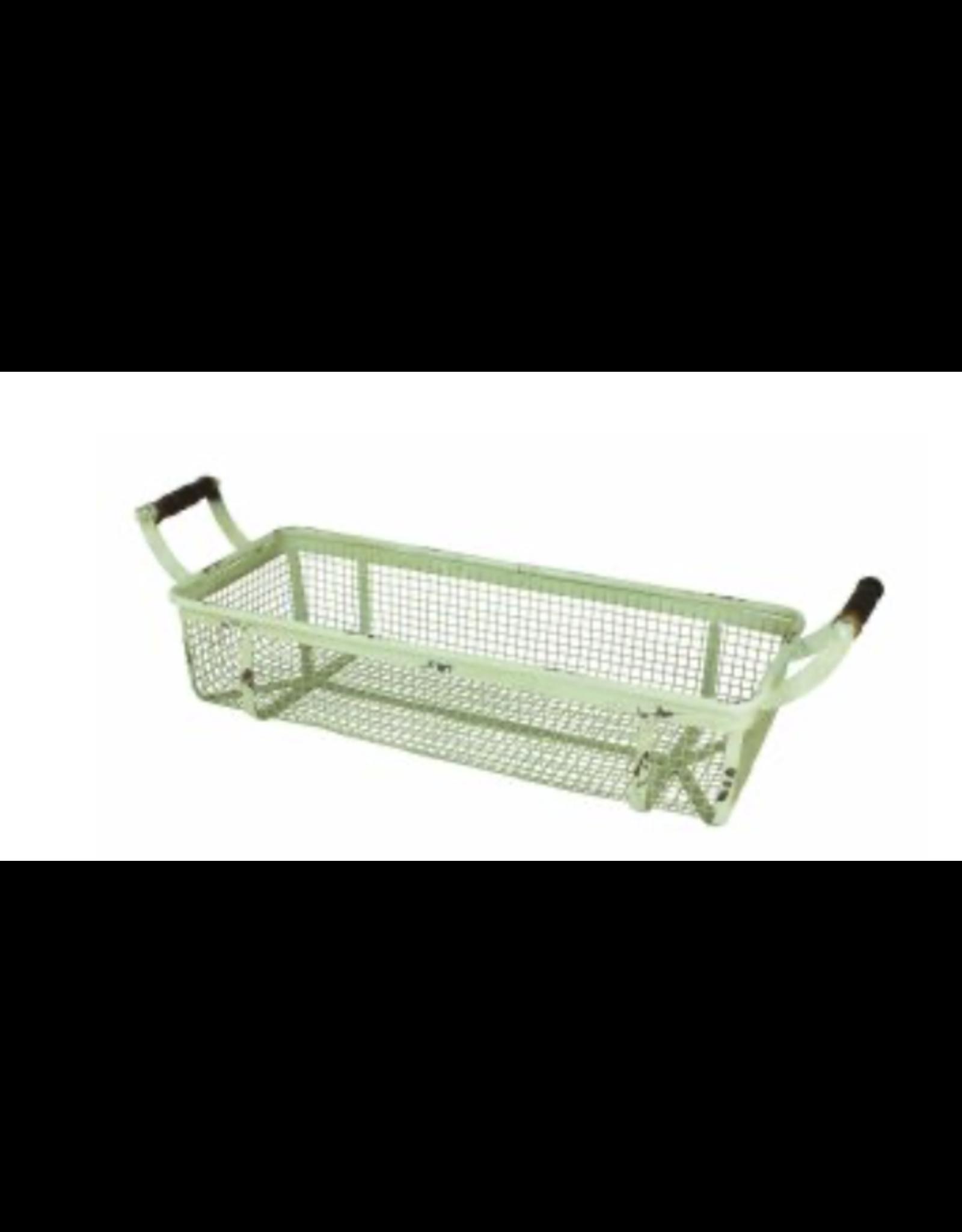 Upper Deck Large Rectangular Metal Basket