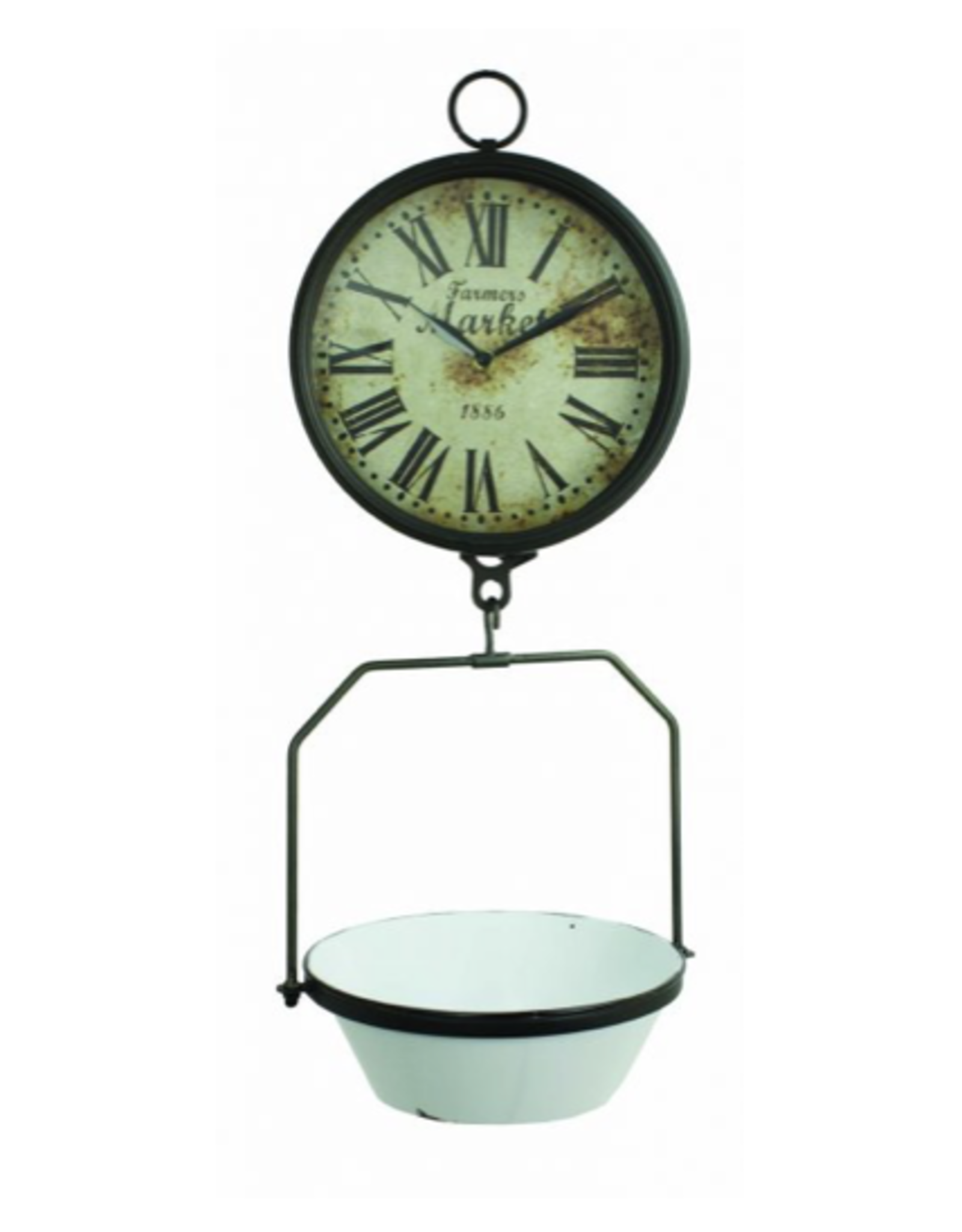 Farmers Scale Clock