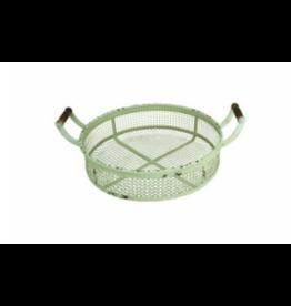 Upper Deck Small Circular Metal Basket