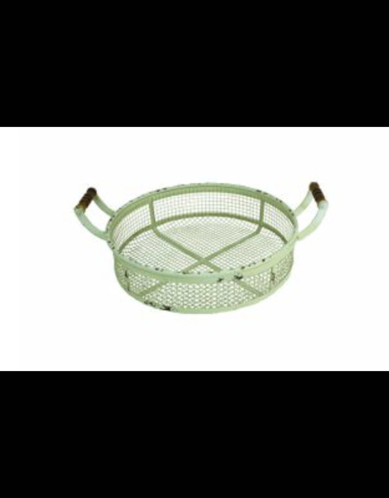 Upper Deck Medium Circular Metal Basket