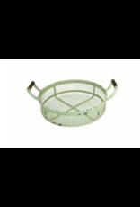 Upper Deck Large Circular Metal Basket