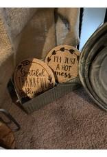 The Good Tree Words Cork Trivet