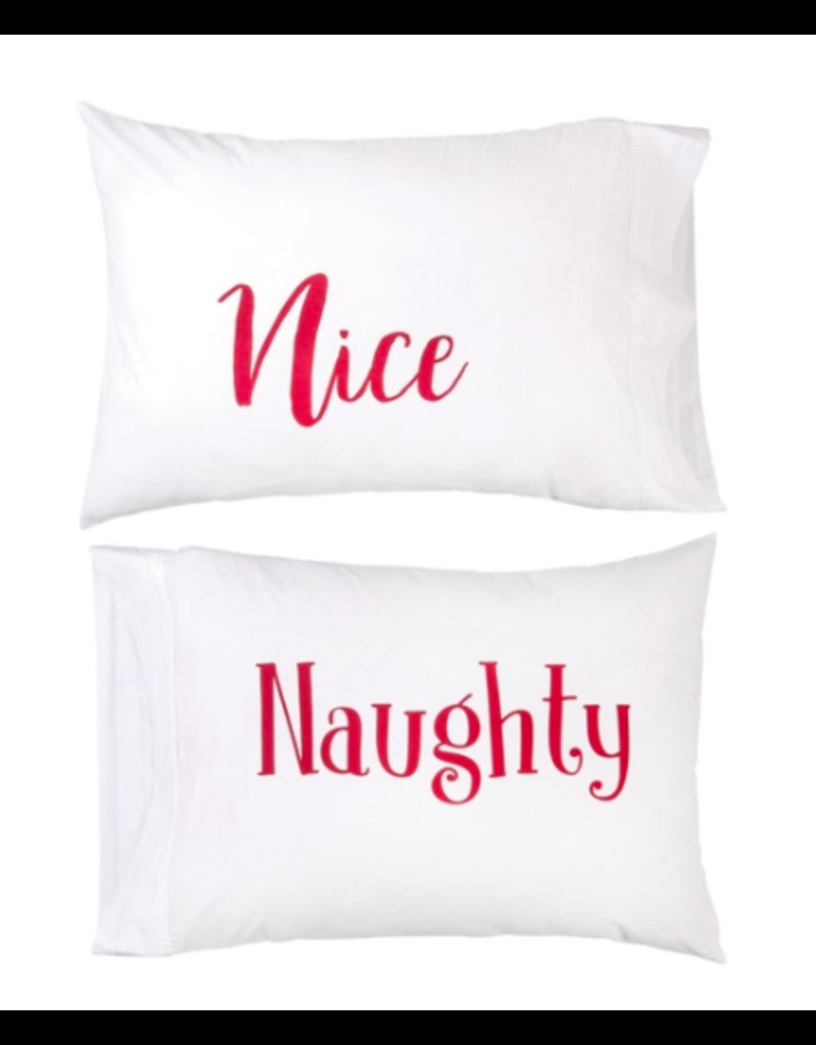 C&F Enterprises Naughty and Nice Pillowcase Set