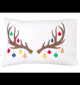 C&F Enterprises Reindeer Ornament Pillowcase