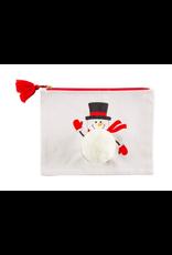 C&F Enterprises Snowman Pouch