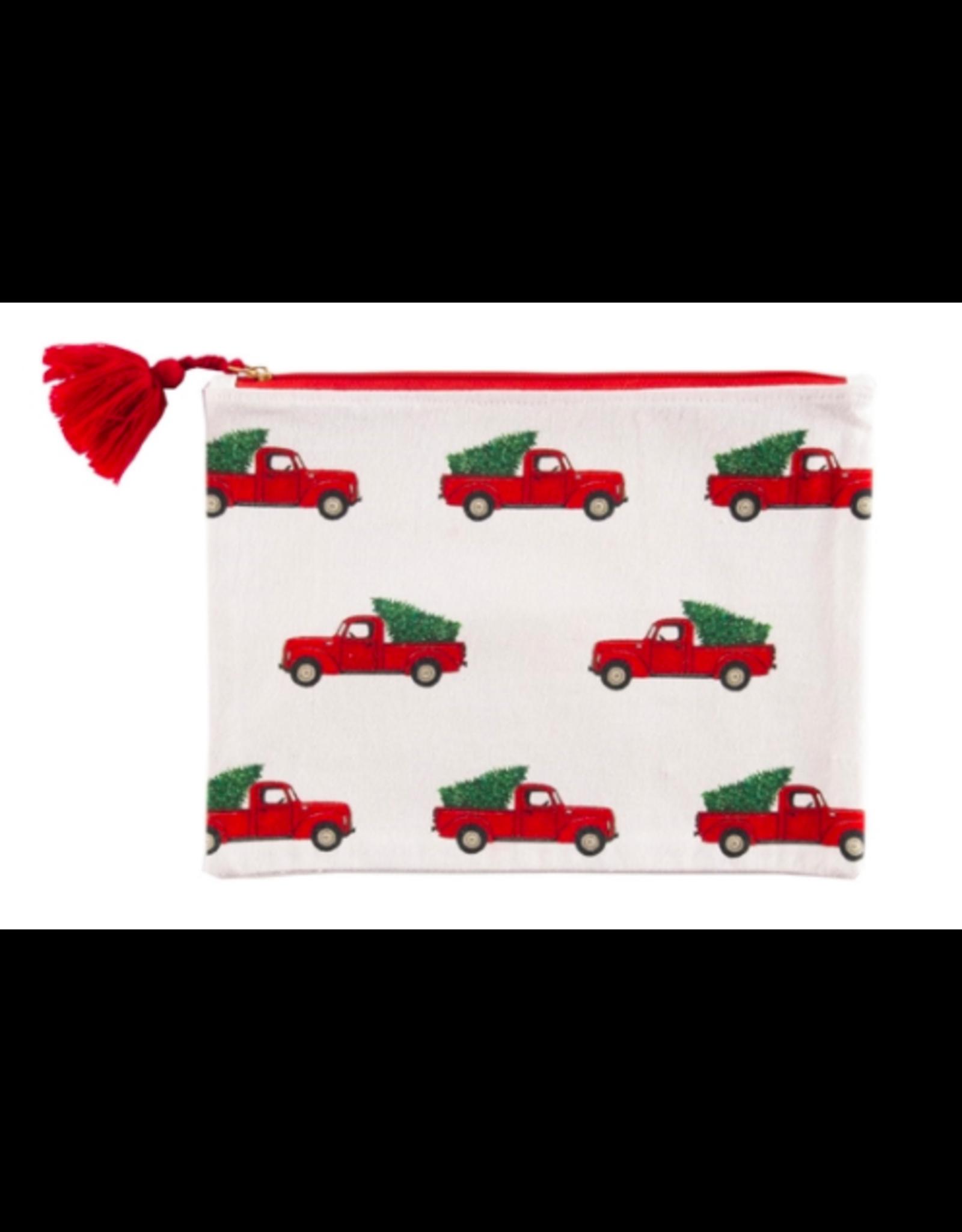 C&F Enterprises Red Truck Pouch