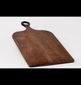 BIDK Acaia Wood Rectangular   14.5 x 25.5 Dark Brown