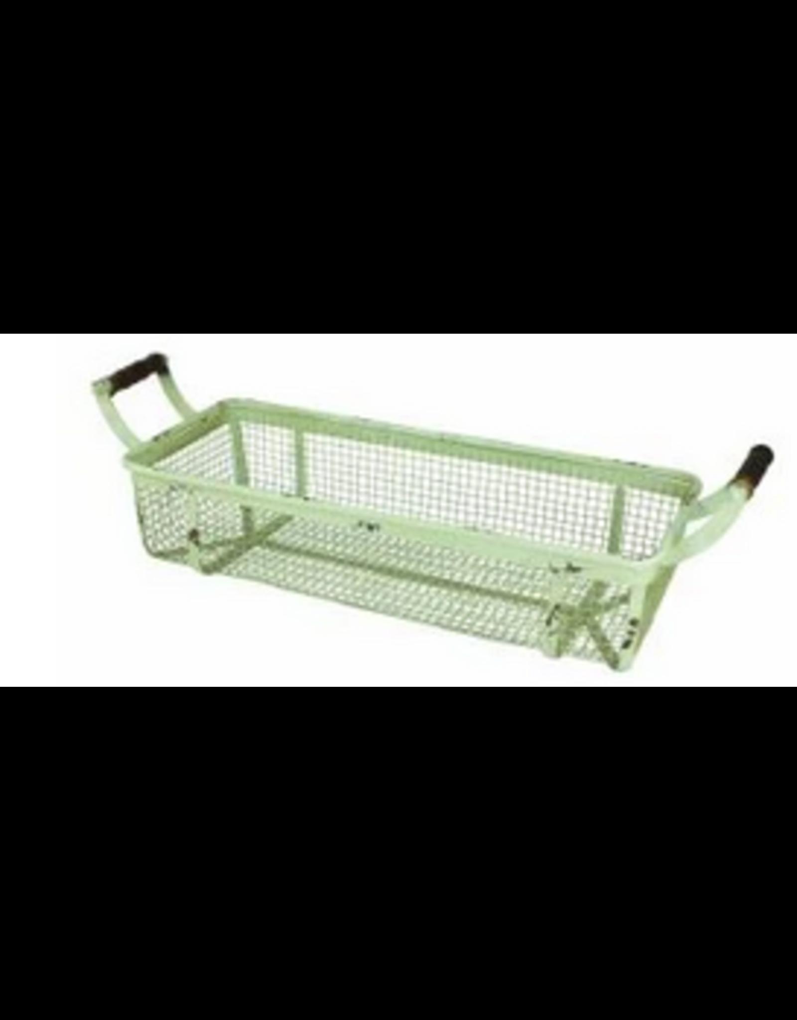 Upper Deck Small Rectangular Metal Basket
