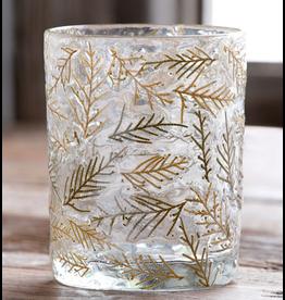 Park Hill Cedar Embedded Glass Cylinder
