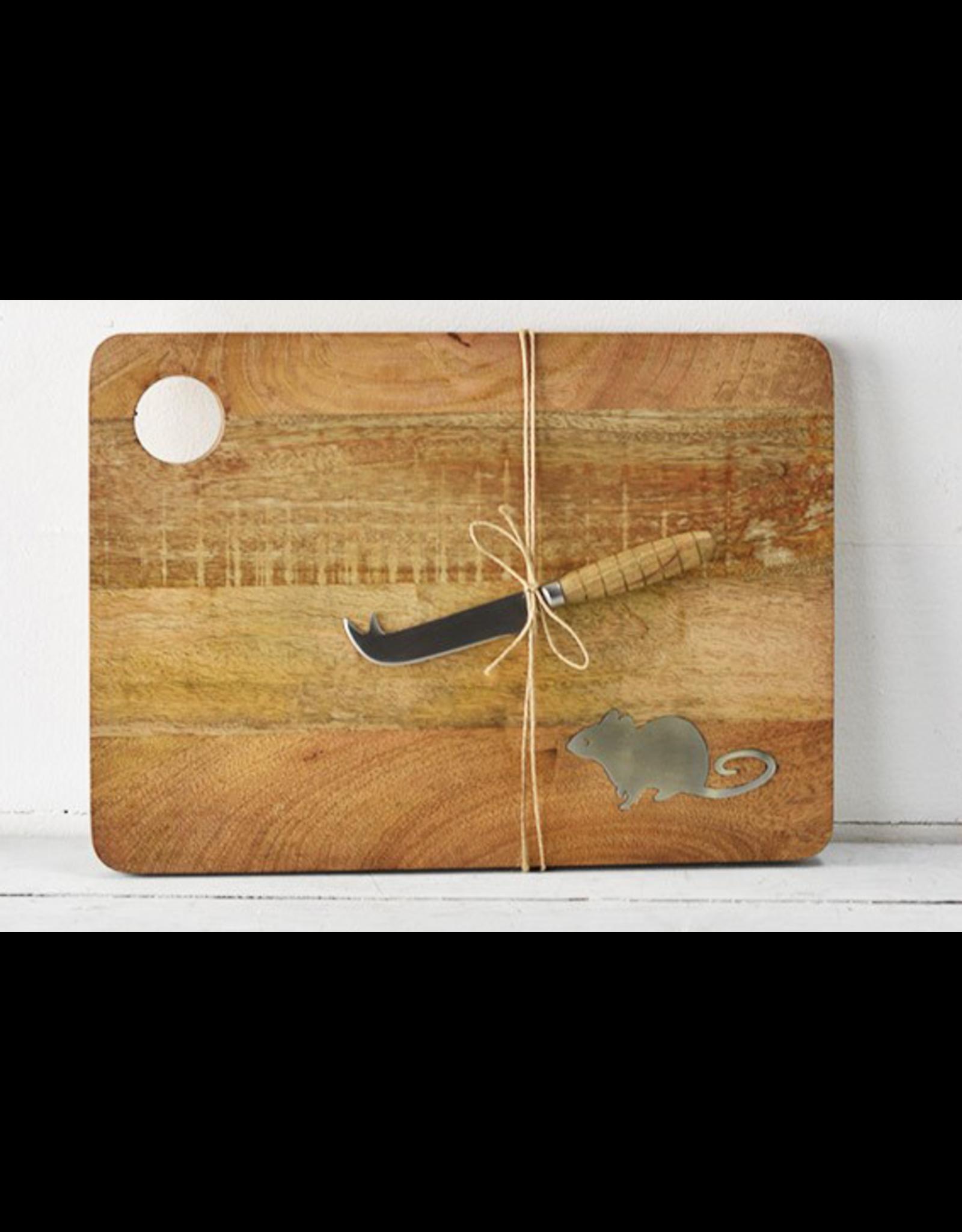 PD Home & Garden Mouse Cheese Board