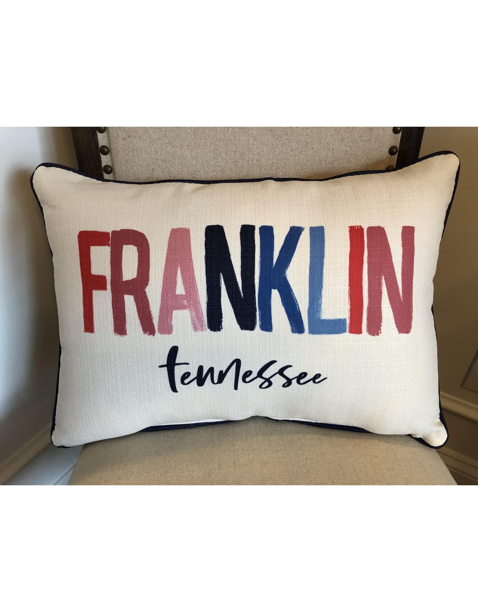 Little Birdie Franklin Poster Pillow