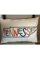 Little Birdie Tennessee State Pillow