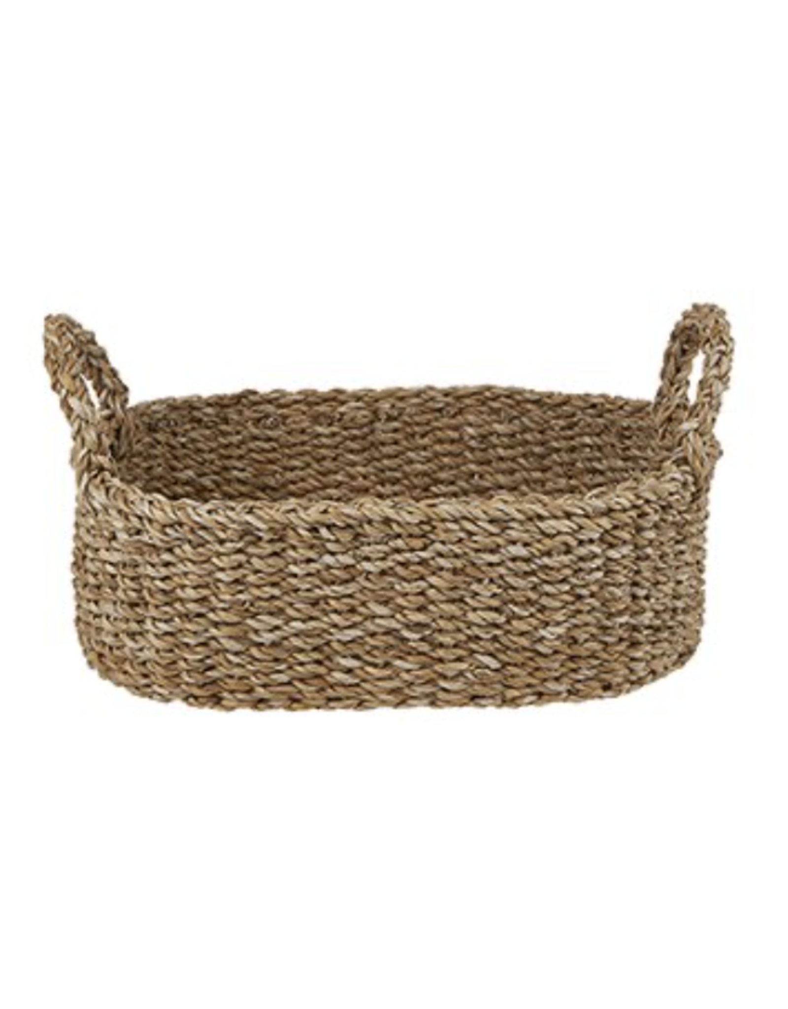 Creative Brands Large Seagrass Oval Basket