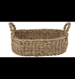 Creative Brands Medium Seagrass Oval Basket