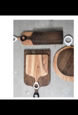 "BIDK Acacia Wood Rectangle Cutting Board 26"" x 7"""