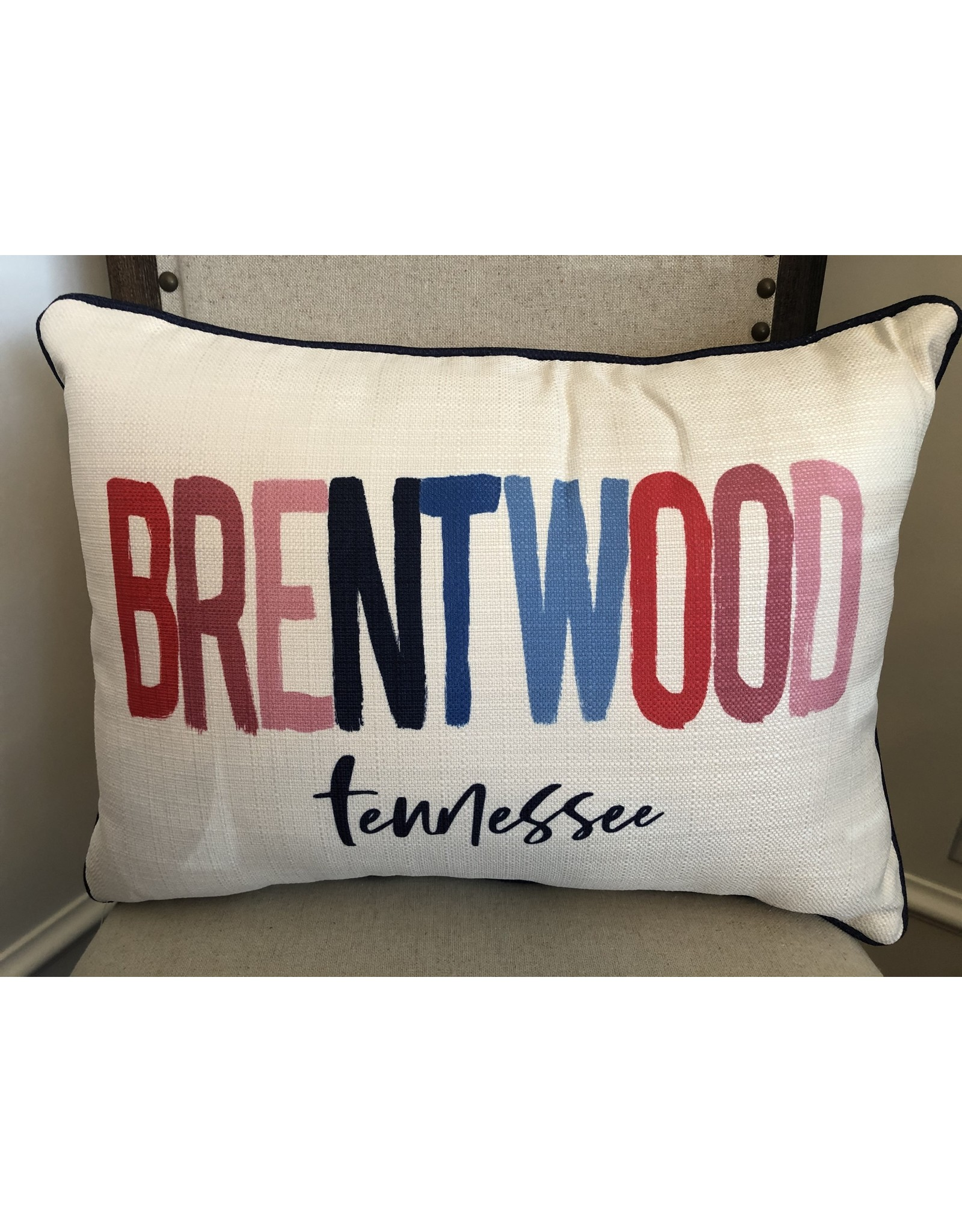 Little Birdie Brentwood Poster Pillow