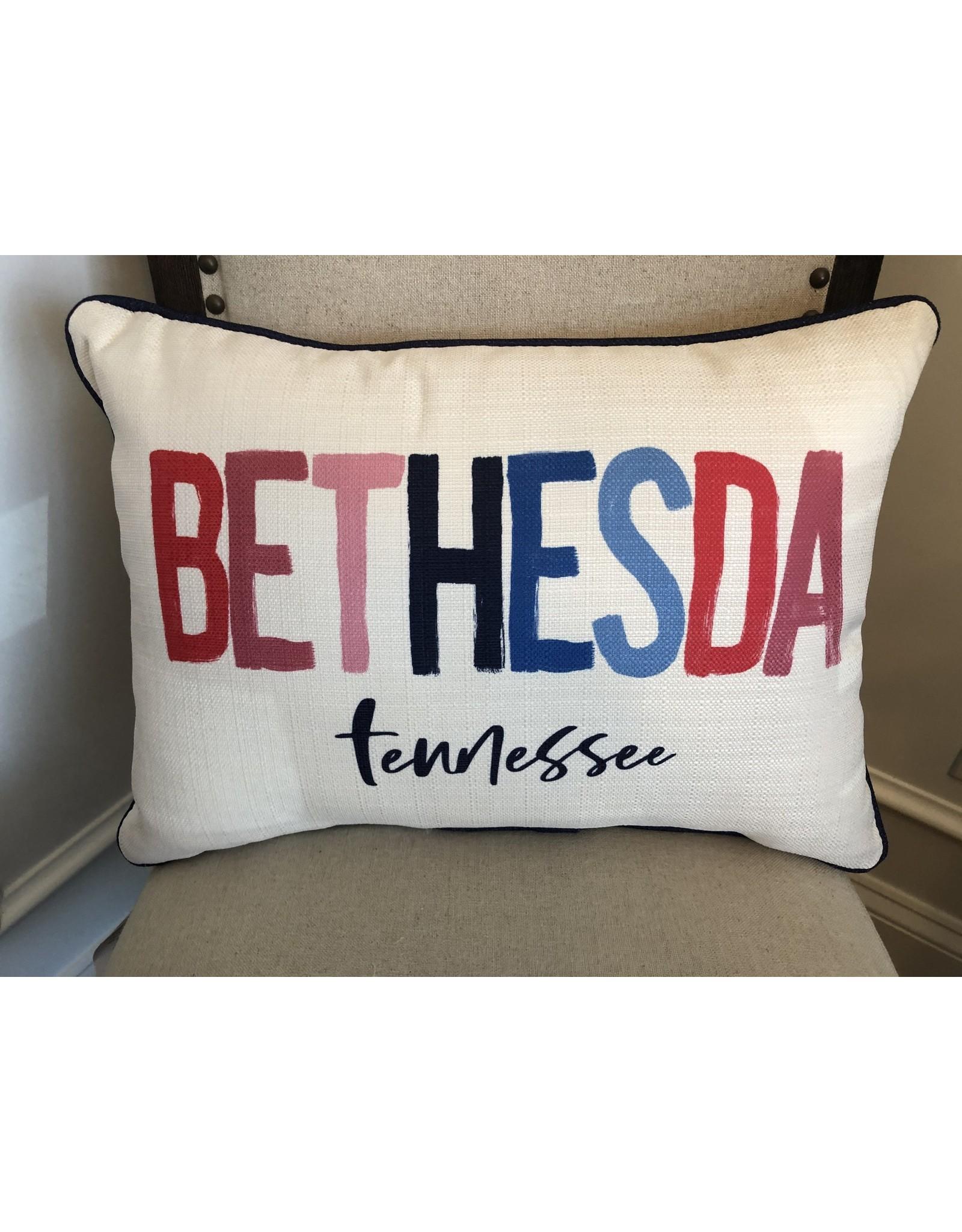 Little Birdie Bethesda Poster Pillow
