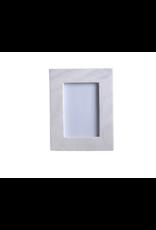 BIDK White Marble Frame 4 x 6