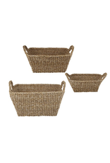 47th Small Rectangle Seagrass Basket