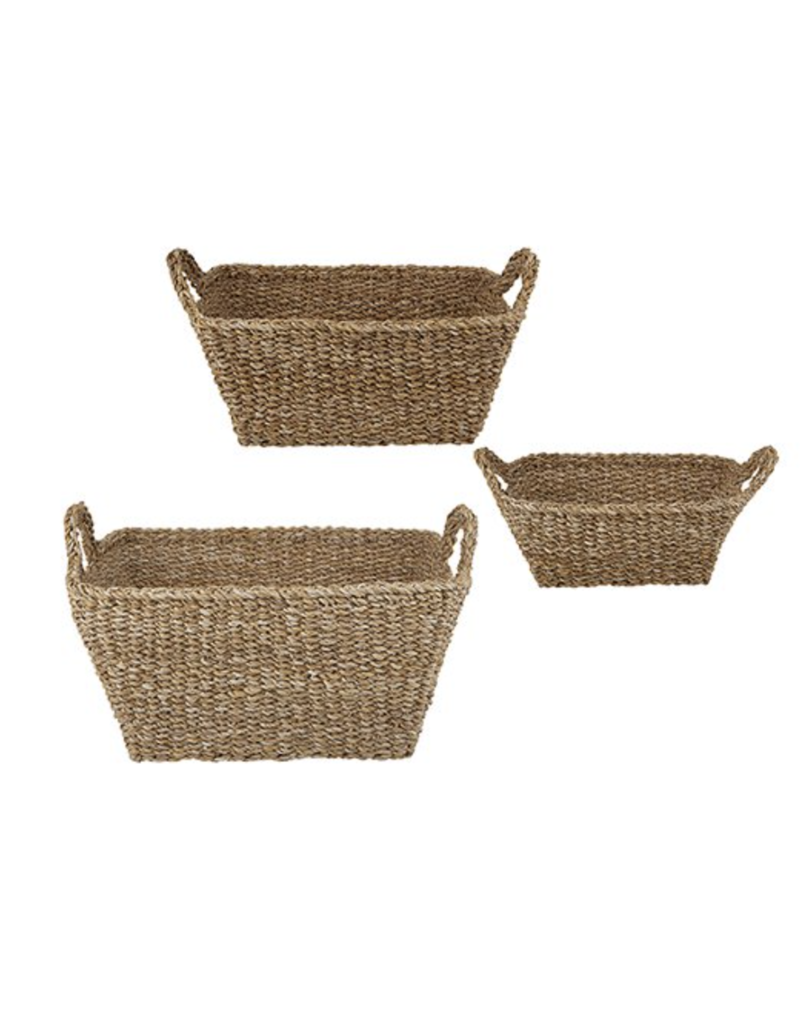 47th Large Rectangle Seagrass Basket
