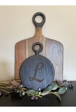 Be Home Black Mango Wood Mini Board Round