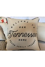 Little Birdie Our State Tennessee Pillow