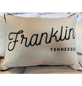 Little Birdie Retro Franklin Pillow